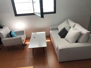 Sofá y butaca de diseño