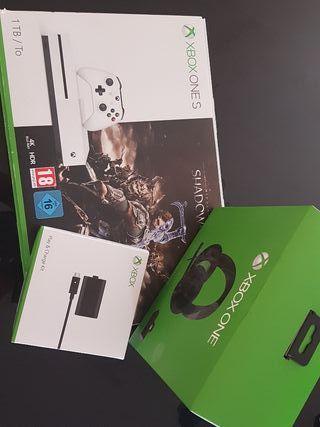 Xbox s 1tb blanca