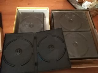 20 cajas dobles para DVD