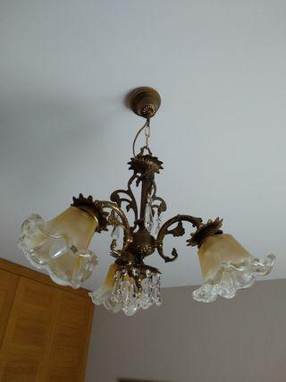 Lámpara Vintage bronce