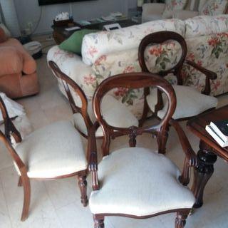 vendo 4 sillas de salon