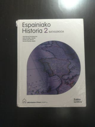 libro espainiako historia 2.batx euskera
