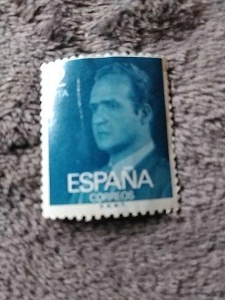 sello 2 pesetas