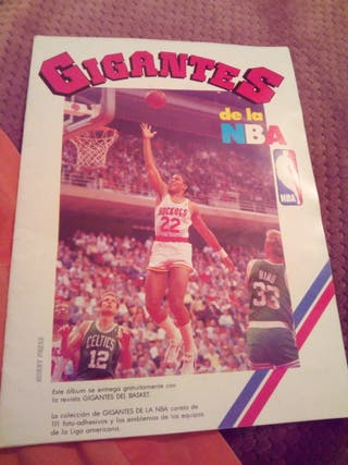 album gigantes de la nba baloncesto completo