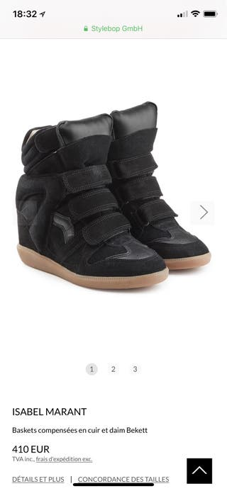 Chaussure Isabel Marant