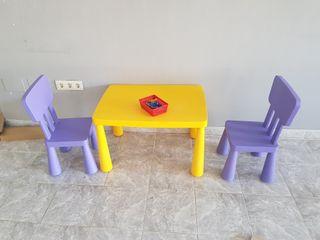 sillas de niños ikea