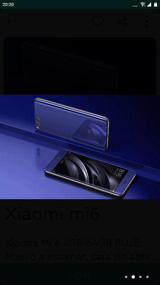 Xiaomi mi 6,6gb 128 g de almacenamiento