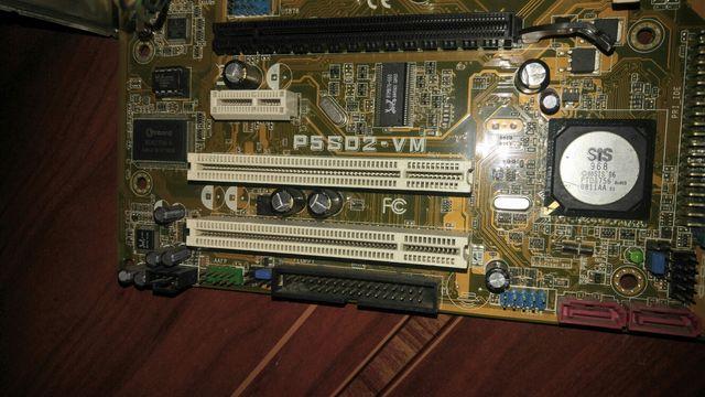Placa base ordenador