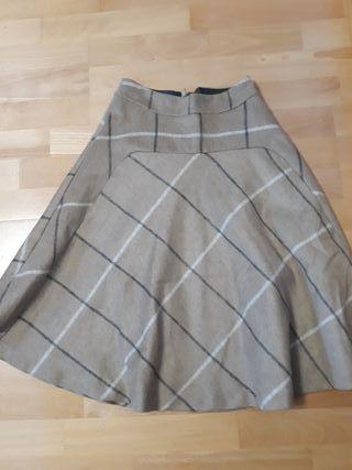 falda Zara talla Xs