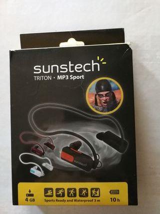 MP3 ACUATICO SUNSTECH TRITON 4 GB segunda mano  España