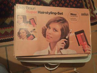 set peluquería de los años 70