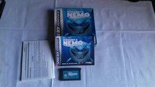 Juego Gameboy Buscando a Nemo