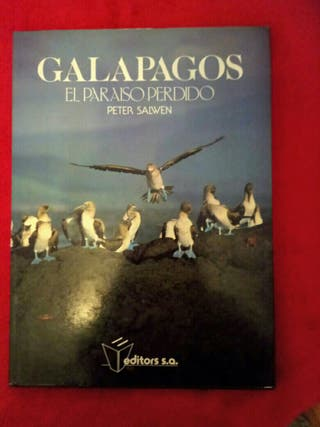 libro Galapagos el paraiso perdido
