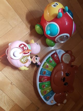 Lote juguetes 1 año