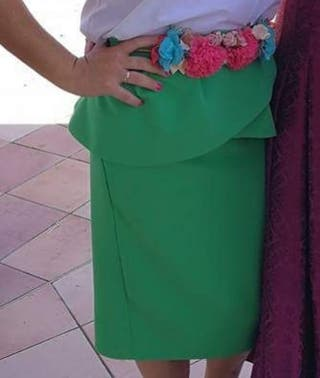 Falda y cinturón