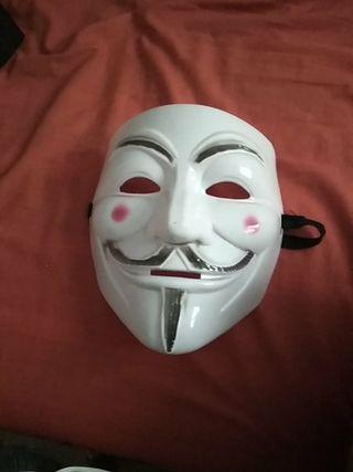 Máscara Anonymous V de Vendetta