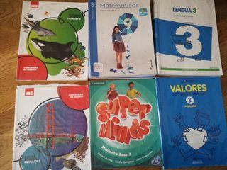 libros 3 de primaria de bilingüe