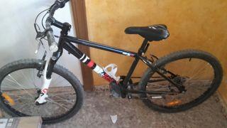 bicicleta niño suspensión delantera