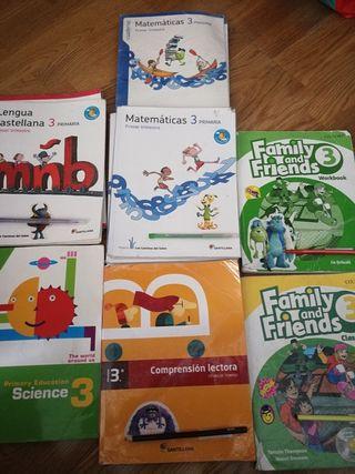 libros de 3 de primaria de bilingüe