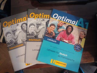 Libros Optimal A1 Alemán