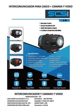 intercomunicadores para cascos motoristas