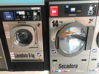 Lavadora y secadora Girbau