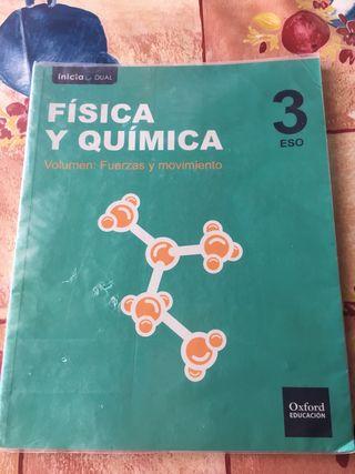 Libros Física y Química.
