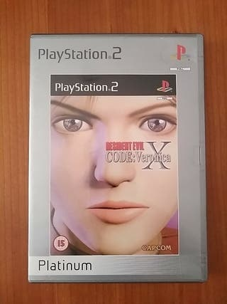 Resident Evil :Code Verónica X