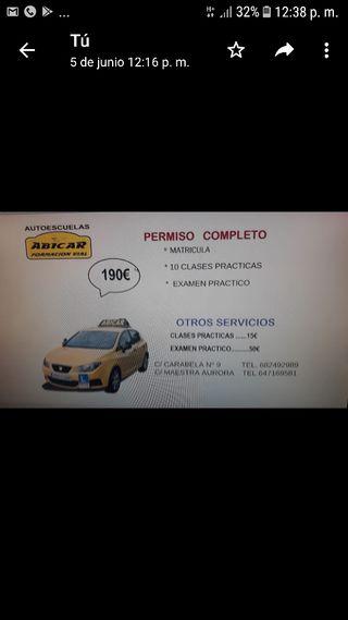 autoescuela ABICAR