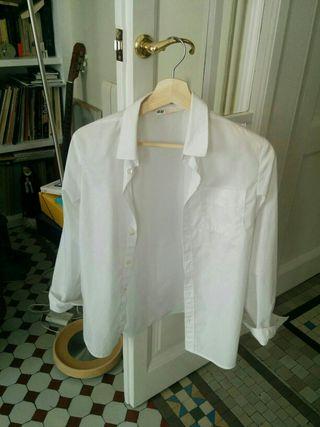 camisa blanca de vestir niño