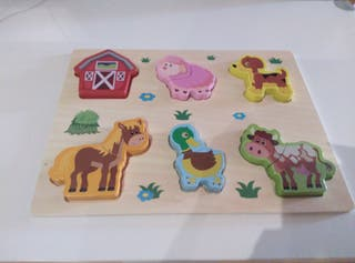 juguete de madera artesanal