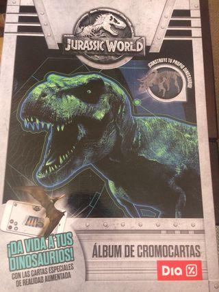 Cromos dinosaurios DIA