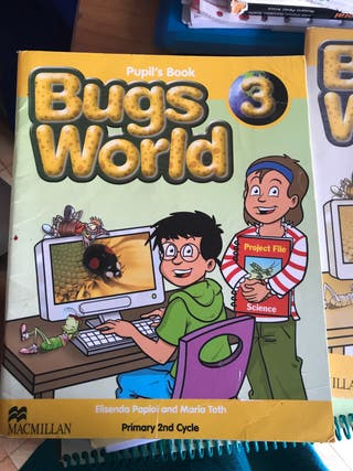 Libros de inglés Bugs World