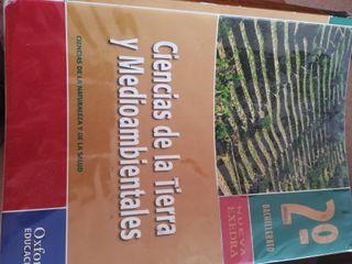 libro Ciencias de la tierra y del medio ambiente