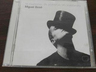11 maneras de ponerse... CD de Miguel Bosé