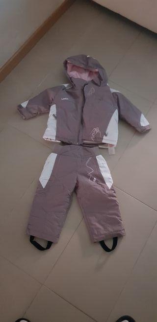 conjunto nieve pantalon chaqueta niña hasta 2 años