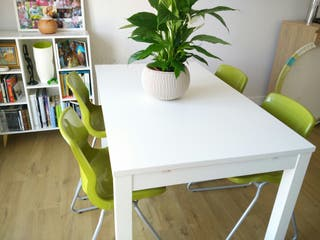 6 sillas modernas + 1 silla escritorio