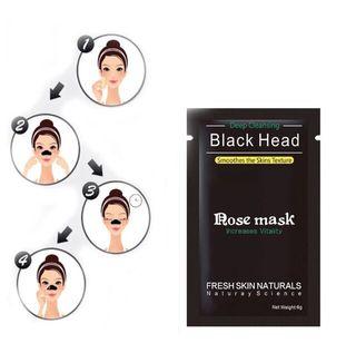 4 sobres de mascarilla negra