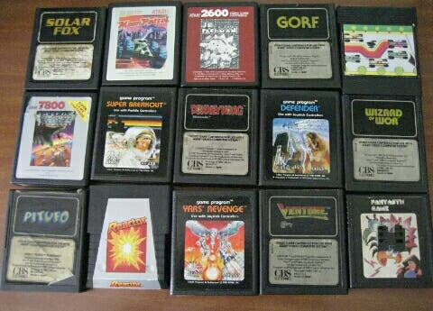 Lote De Juegos Atari De Segunda Mano Por 100 En Vigo En Wallapop