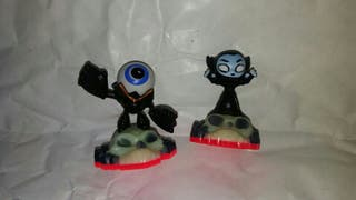 skylanders trap team mini de muertos