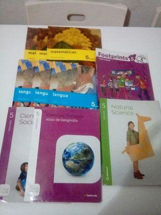 libros texto de 5 primaria de almoguera.