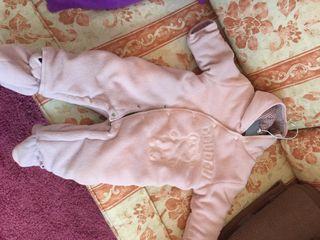 Buzo bebé rosa polar