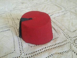 gorro antiguo arabe