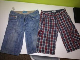 lote 2 pantalones talla 10