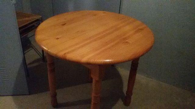Mesa de cocina redonda extensible de segunda mano por 60 € en ...