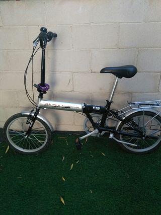 Bici Plegable Monty F18