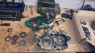 reconstrucción motores de moto