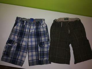 lote 2 pantalones talla 8 años