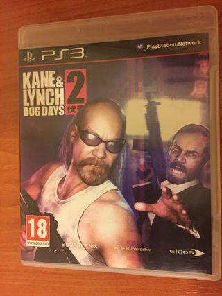 Videojuego Kane and Lynch 2 PS3