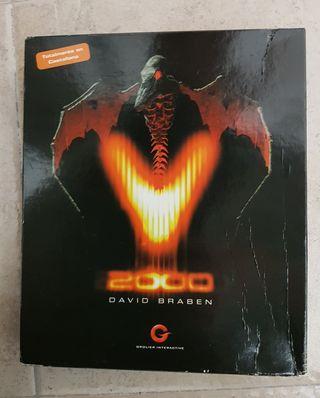 Virus 2000 David Braben PC caja grande